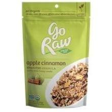 Go Raw Organic Apple Cinnamon Sprouted Granola, 16 Ounce - 6 per case. -