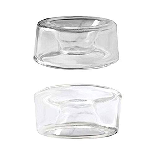 2 PCS Clear Soft Silicone Replacement Vacuum Pump Sleeve Cover for Men Condom