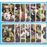 (2013 Topps NFL Football Team Set (Ships In Protective Storage Box) - Baltimore Ravens : 14 Cards = Baltimore Ravens SB XLVII Champs Vonta Leach Ray Rice Haloti Ngata Bernard Pierce Terrell Suggs Torrey Smith Baltimore Ravens Arthur Brown Dennis Pitta Matt Elam Elvis Dumervil Jacoby Jones Joe Flacco)
