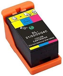 Dell Y498D V515W 4 Black U313R P153W P713W. 4 Black, 2 Color Series 23 Compatible Ink cartridges for The V313 V313W New Compatible Ink Cartridges Y499D 2 Tri-Color Series 21,Series 22