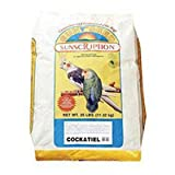 Sun Seed Company BSS20006 Economical Mix Cockatiel Food, 25-Pound, My Pet Supplies
