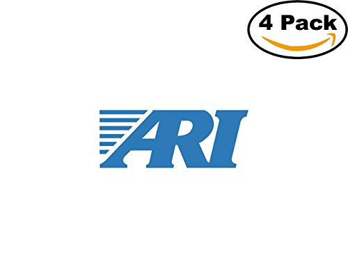 Ari Network Services 73421 4 Stickers 4X4 Inches Car Bumper Window Sticker Decal