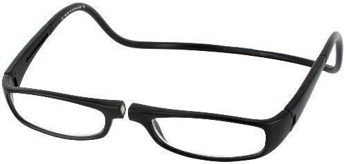 Clic Half Frame Black Reading Glasses : CliC Reader XXL Single Vision Half Frame Designer Reading ...