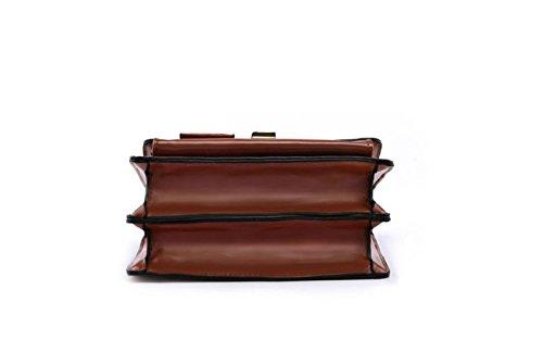 Bolso Solo Cuadrado Generoso Es La Nueva En Dama Retro Elegante Bolsa Pequeño Brown Gwqgz Negro Y Hombros El La Con Los apnx4vpSI