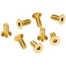 C.R. LAURENCE A512GP CRL Gold Plated 5 mm x 12 mm Cover Plate Flat Allen Head Screws