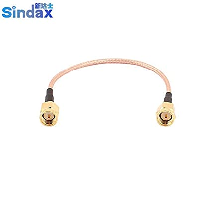Gimax SMA-J Male to SMA-J Male RG316 Coaxial Cable Pigtail ...