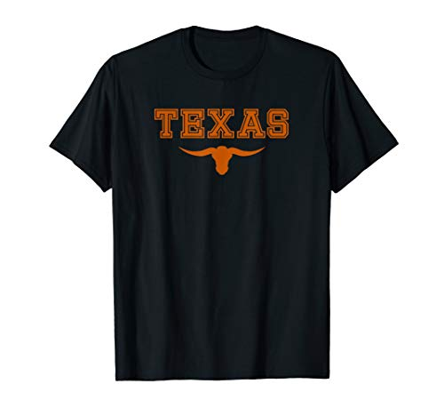 Lone Star State Pride Texas Long Horn T-Shirt