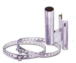 カーブミラー電柱用取付金具  φ76.3用 B00AIG9MZA 13000