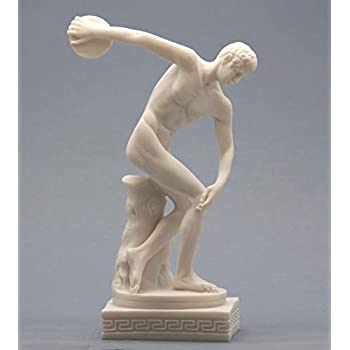 Two 19th Century Grand Tour Nude Male Statues of Roman