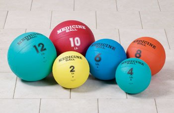 CLINTON EXERCISE BALLS AND ACCESSORIES Medicine balls (set of 6) Item# 8200 by Clinton Kangoo