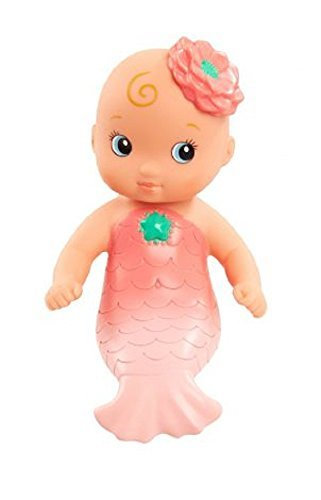 Just Play Wee Waterbabies Mermaid Baby Doll - Pink ()