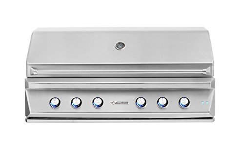 Twin Eagles 54 Inch Built-In Natural Gas Grill with Infra...