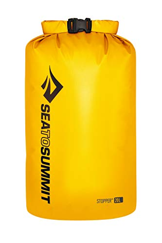 Sea to Summit Stopper Dry Bag, Yellow, 20 Liter