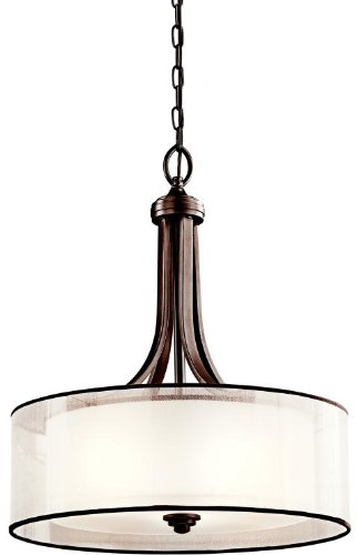 (Kichler  42385MIZ Four Light Pendant)
