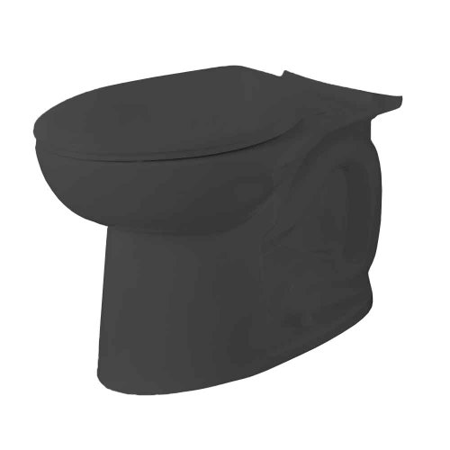 American Standard 3717C001.178 Cadet 3 FloWise Elongated Toilet Bowl Only in (Elongated Black Bidet)