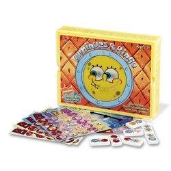 (Spongebob Bingo Dominoes/Bingo in Plastic Box)