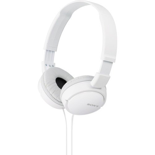 Sony Lightweight Extra Bass Stereo Headphones (White) by Sony