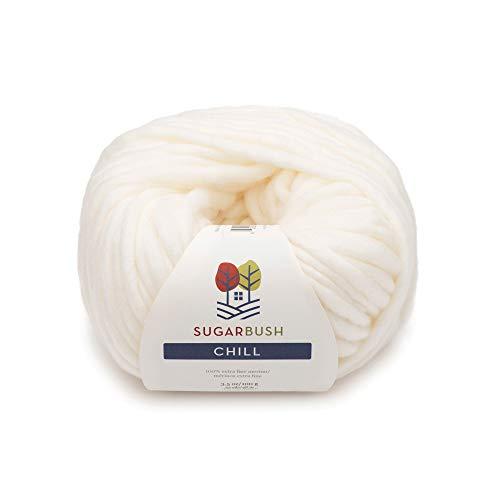 Sugar Bush Yarn Chill Extra Bulky Weight, Diamond - Knitting Alpaca Wool
