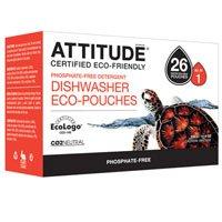 Attitude Dishwasher Phosphate Free Eco-Pouches Detergent ...