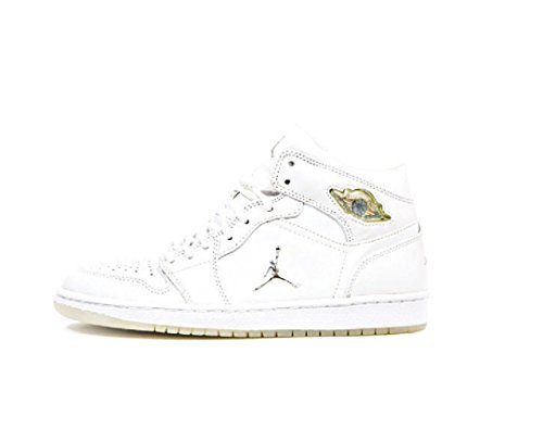 Air Jordan I (1) Rétro Blanc Chrome 306000-101 Us Taille 9.5