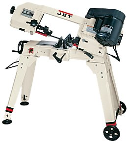 Jet 414458 HVBS-56M 5-by-6-Inch 12 HP HorizontalVertical Bandsaw