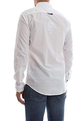 Tommy Homme Xl Jeans White Dm0dm04481 Essential Chemise Tjm Solid SSrqwfa
