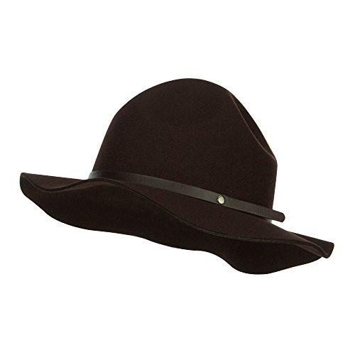 Ranger Mountie Hat - Brown OSFM (Hat Mountie Hat)