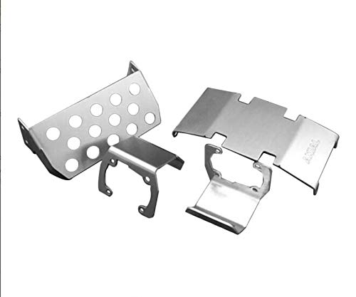 Metal Front Pedal Plate for RC1:10 Car axial scx10 90046 90047 90059 ()