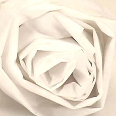 500 x 750 mm 10 x Tejido blanco sin /ácido