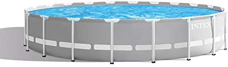 Intex 20ft x 52in Prism Frame Above Ground Swimming Pool Set