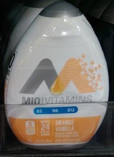 12 Mio Vanilla Orange Instant Drink Mix tastes like a creamsicle by Mio