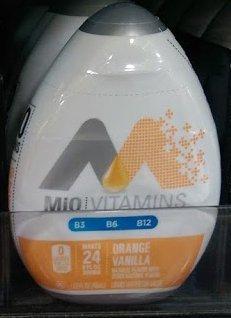 Mio Vitamins Orange Vanilla (Pack of 4)