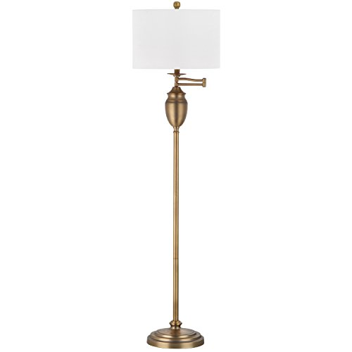 Safavieh Lighting Collection Antonia Gold 60-inch Floor Lamp
