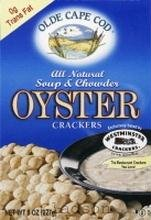 Westminster Cracker Co. Oyster Crackers, Transfat Free 8 oz. (Pack of 12) by Olde Cape Cod