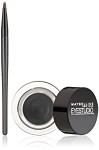 Maybelline New York Eye Studio Lasting Drama Gel Eyeliner, Blackest Black, 0.106 oz.