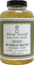 Bain à bulles profondes raide Rosemary Mint - 17,5 onces - liquide