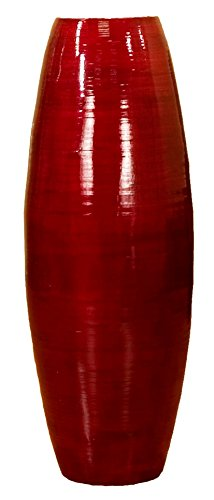 Red Tall Vases - 8