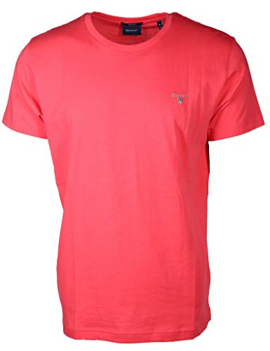 Red Rouge Gant Clair Solid Homme T T watermelon shirt qXO8wSa