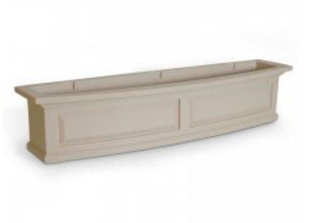 (Nantucket Window Box 4ft Clay)