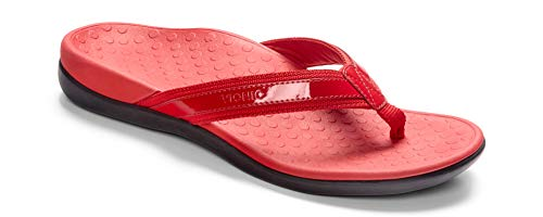 Women's Vionic 'Tide Ii' Flip Flop, Size 12 M - Red