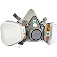 3M 7 pcs Suit Respirator Painting Spraying Face Gas Mask
