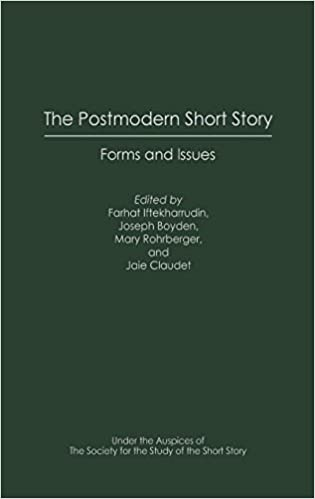 The Postmodern Short Story Forms And Issues Contributions To The  The Postmodern Short Story Forms And Issues Contributions To The Study Of  World Literature