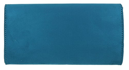 Girly Handbags Verde Azulado Con Bolsa Sobre Diseño Mano De Chica paxpwFqr
