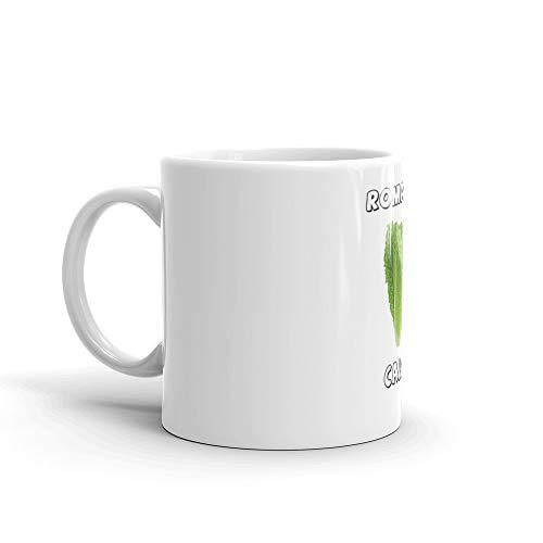 Funny Romaine Calm Dad Joke Pun Art Mug 11 Oz White ()