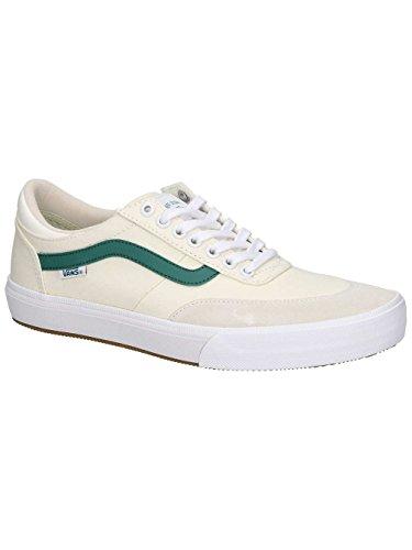 Classic Gilbert Court Crockett Evergreen centre Chaussures Vans White qHXp5z