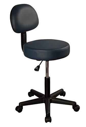 (Master Massage Pneumatic Hydrolic Rolling Massage Clinical Spa Tattoo Office Swivel Stool with Backrest)