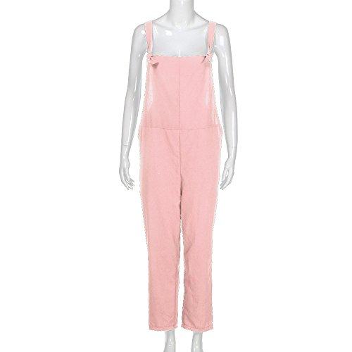Salopette Vintage Chic Femme Combinaisons Jumpsuit avec Mode Bretelles Uwqp7Ur