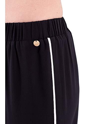 Para Luckylu Pantalón Pantalón Negro Mujer Luckylu qv1Pvt