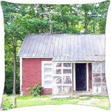 Kentucky Farmhouse - Throw Pillow Cover Case (18