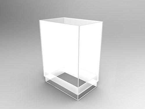 Gravity Feed Display - FixtureDisplays Plaxiglass Candy Bin Acryilic Gravity Feed Candy Display Treats Tube Display 100854